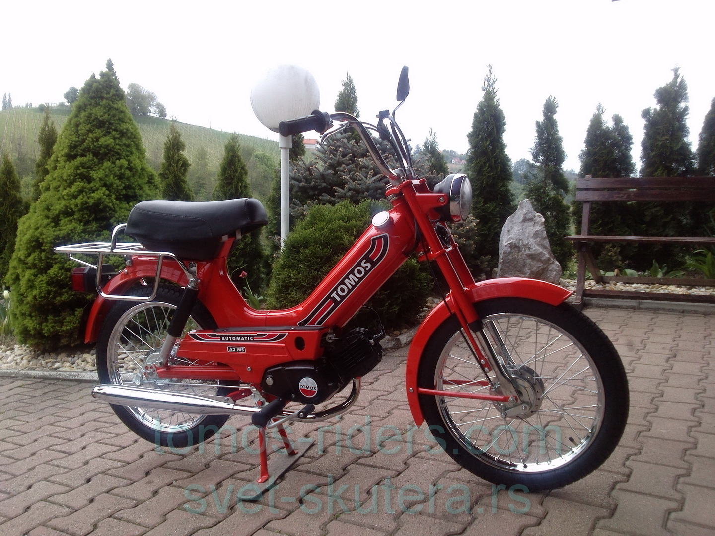Image result for tomos automatic